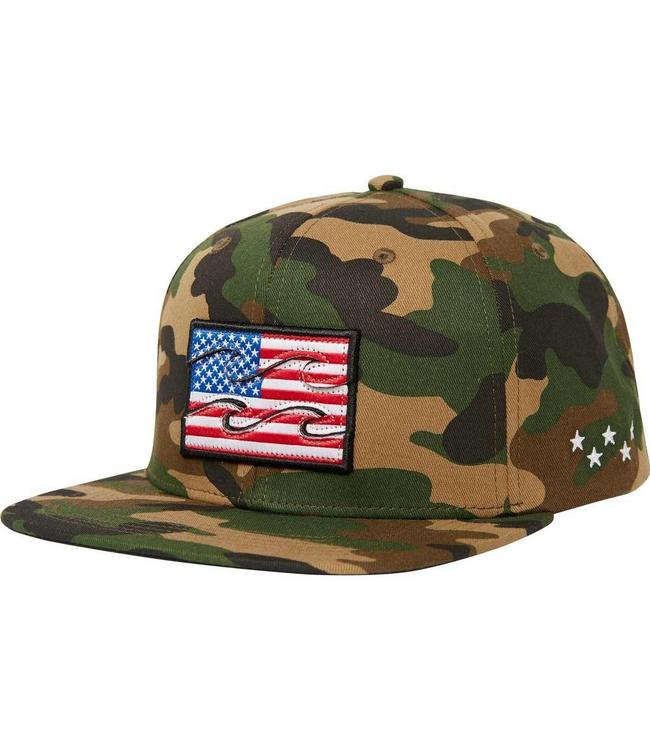 9206ce32292e5 Billabong Native USA Camo Snapback Hat - Drift House Surf Shop