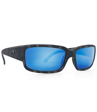 Costa Del Mar Caballito Ocearch Tiger Shark 580G Blue Mirror Lens Sunglasses