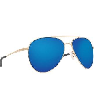 Costa Del Mar Cook Gold 580G Blue Mirror Lens Sunglasses