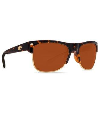 Costa Del Mar Pawleys Retro Tort 580P Copper Lens Sunglasses