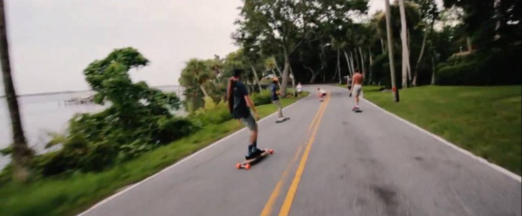 Drift House Surf Shop and RCC Skate go Long-boarding through Cocoa Village