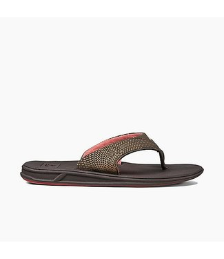 Reef Rover Brown and Coral Sandals