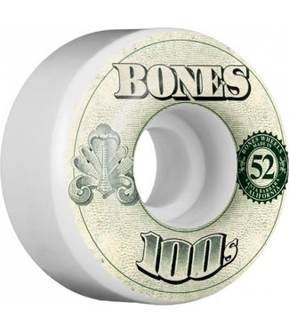 Bones 100's OG 53mm Money Formula Skate Wheels