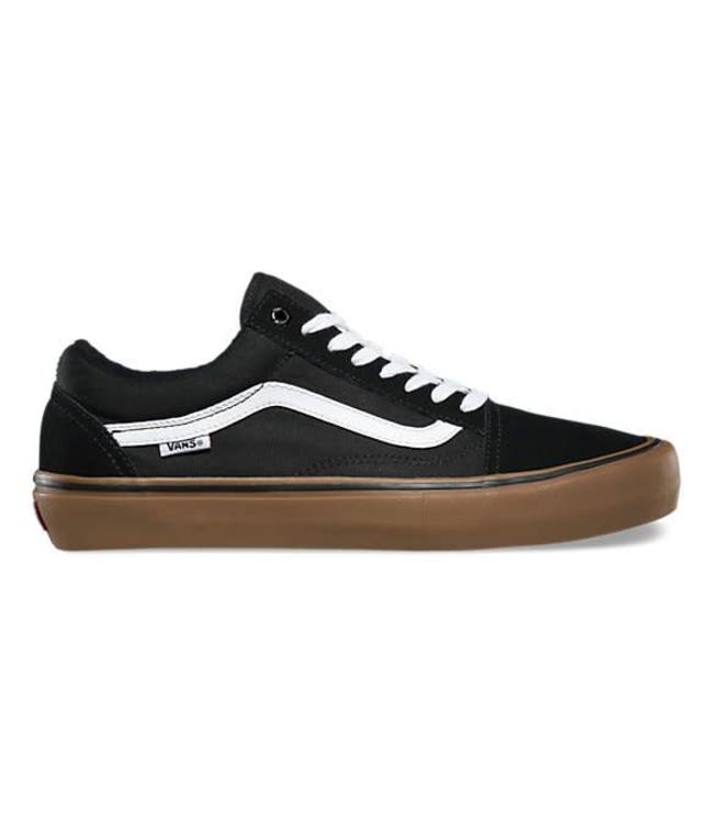 Vans Mid Skool Pro White & Black Skate Shoes | Shoes, Vans