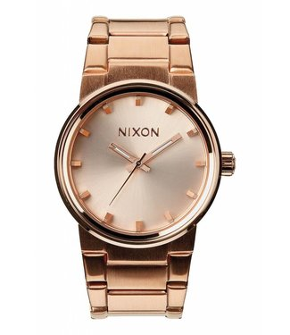 Nixon Cannon All Rose Gold 39.5mm Watch