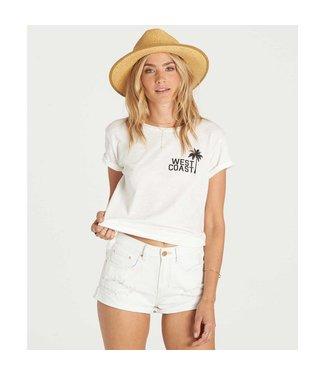 Billabong Just Me White Denim Shorts