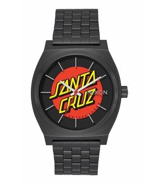 Nixon Time Teller Santa Cruz Black 37mm Watch