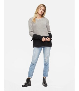 TAVIK Paris Heather Grey & Black Sweater