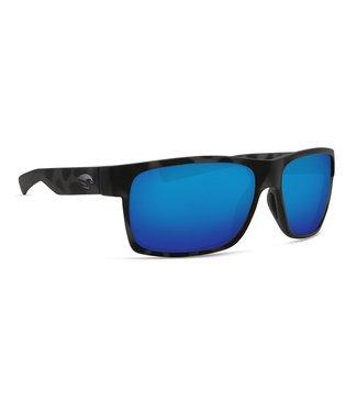 Costa Del Mar Half Moon OCEARCH Tiger Shark 580G Blue Mirror Lens Sunglasses