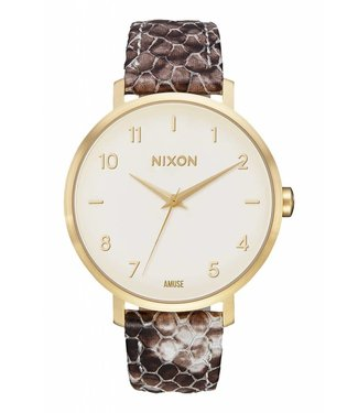 Nixon x Amuse Society Arrow Leather Watch