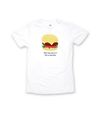 Duvin Design Co. Nice Buns White Short Sleeve Tee