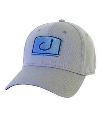 Avid Iconic Grey Fitted Fishing Hat
