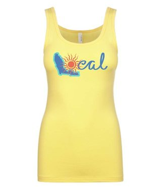 The Local Brand Endless Dawn Yellow Tank Top