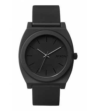 Nixon Time Teller P Matte Black 40mm Watch