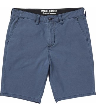 Billabong New Order X Overdye Submersibles Indigo Shorts