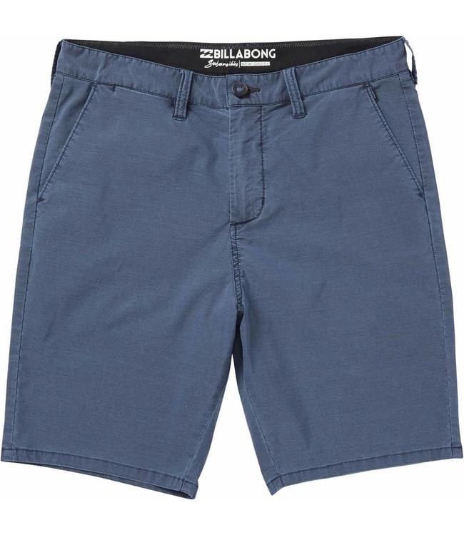Billabong New Order X Overdye Submersibles Indigo Shorts