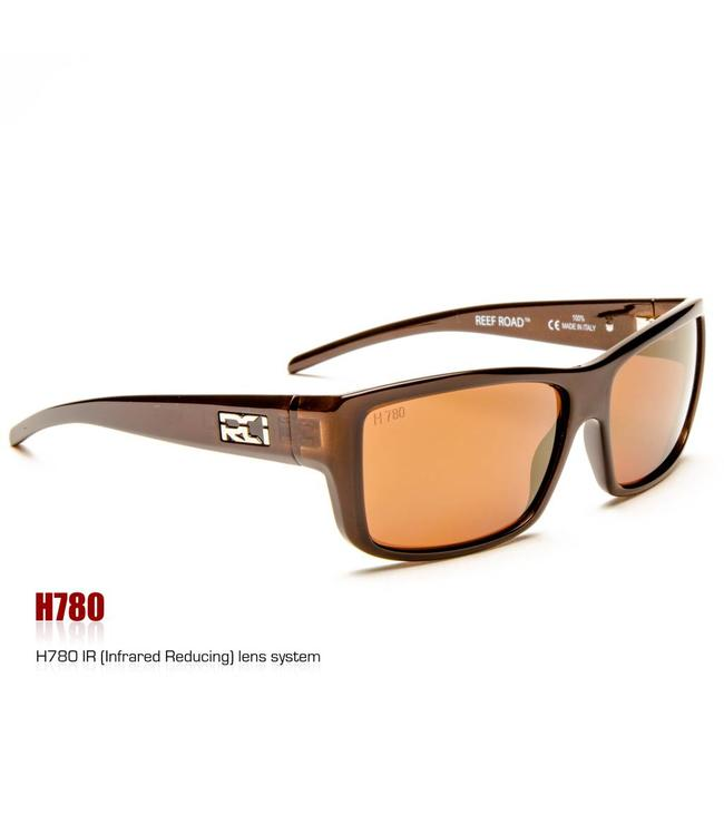 RCI Optics Reef Road Coral Brown Copper Gold Mirror Lense
