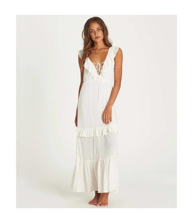df4e7cfeef6 Billabong Romance Row White Maxi Dress
