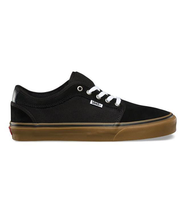 bd6af32f6c Vans Chukka Low Pro Black with Gum Skate Shoes
