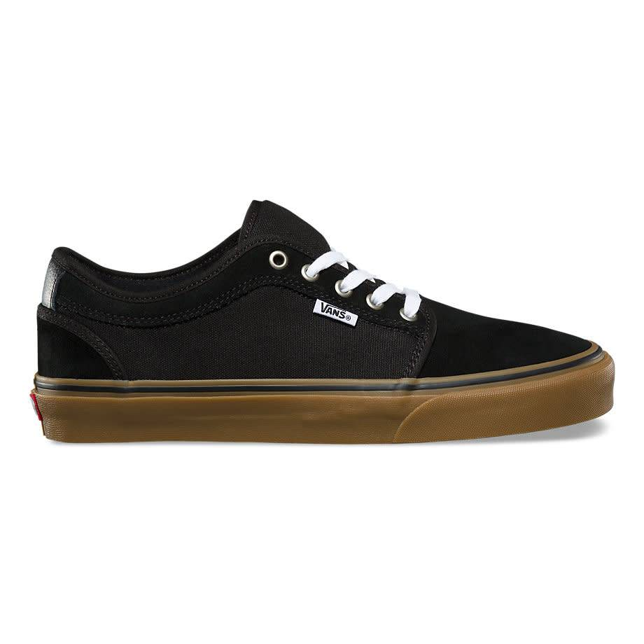 0bc1ee69bc4a22 Vans Chukka Low Pro Black with Gum Skate Shoes
