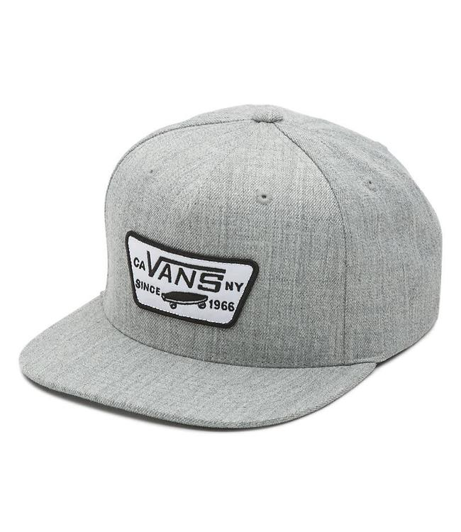 46872f2a28 Vans Full Patch Heather Grey Snapback Hat