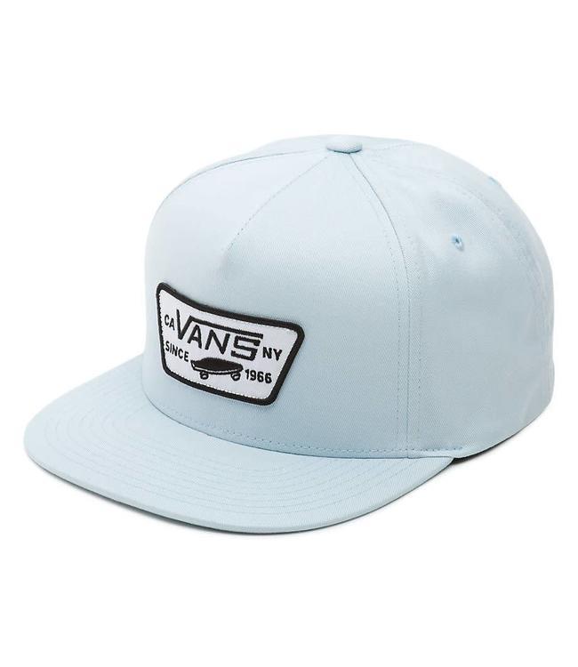 Vans Full Patch Baby Blue Snapback Hat  9debb2edc5d
