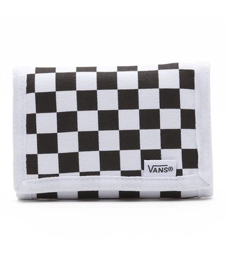 Vans Slipped Tri Fold Black/White Velcro Wallet