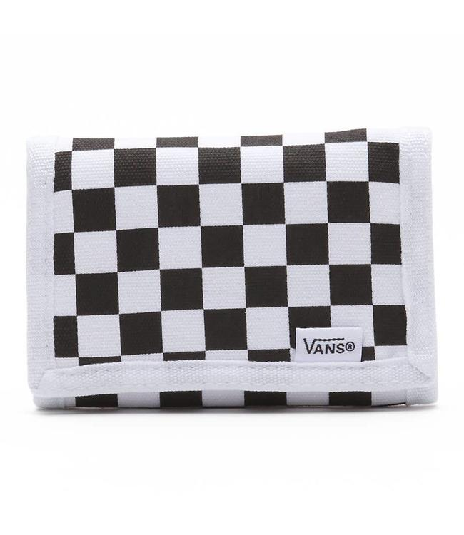 Vans Slipped Tri Fold Black/White Velcro Wallet