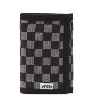 Vans Slipped Velcro Black/Charcoal Tri Fold Wallet