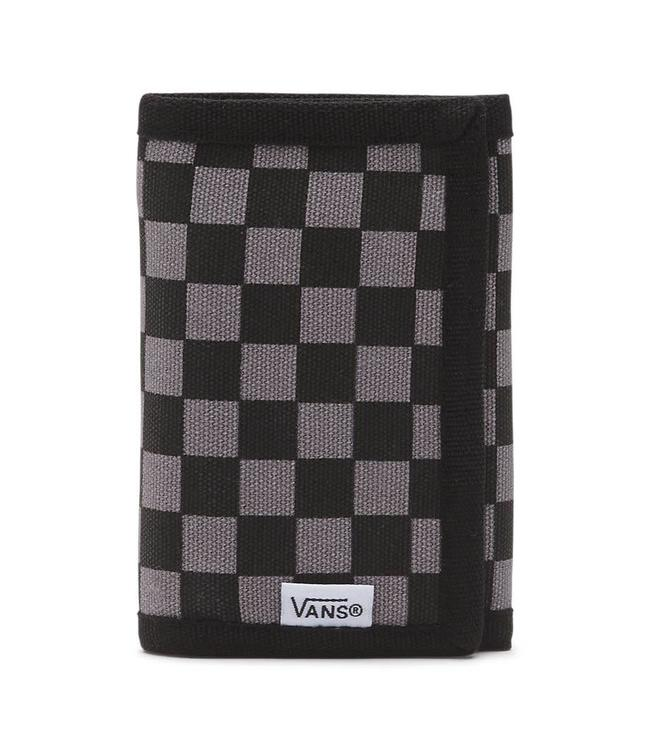 Vans Slipped Velcro Black/Charcoal Tri Fold Wallet