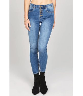 Amuse Society Sure Thing Indigo Haze Denim Pant
