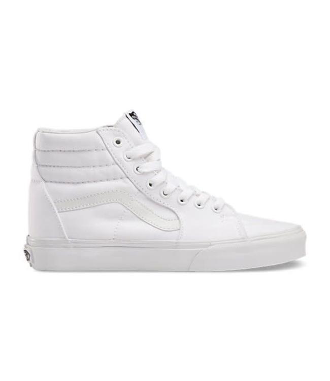 af13e1d09fa9 Vans Canvas Sk8-Hi Slim True White Shoes