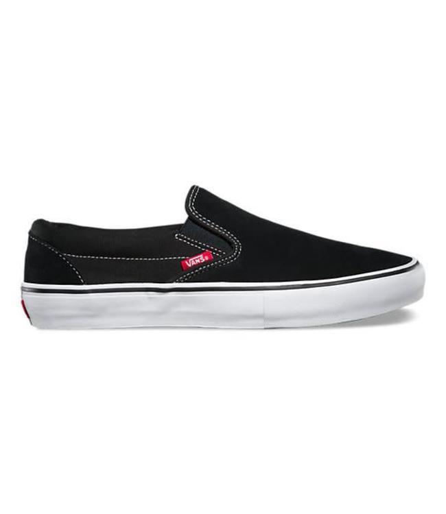Vans Slip-On Pro Black/White Shoes