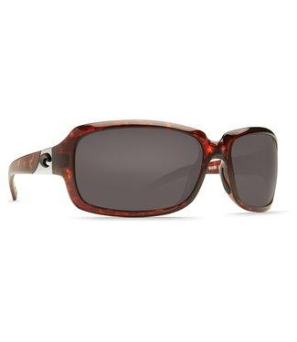 Costa Del Mar Isabela Tort 580G Gray Lens Sunglasses