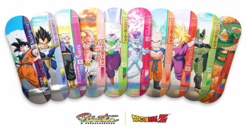 Primitive Skateboards x Dragon Ball Z Drop 1 are Ready To Go Super Saiyan!