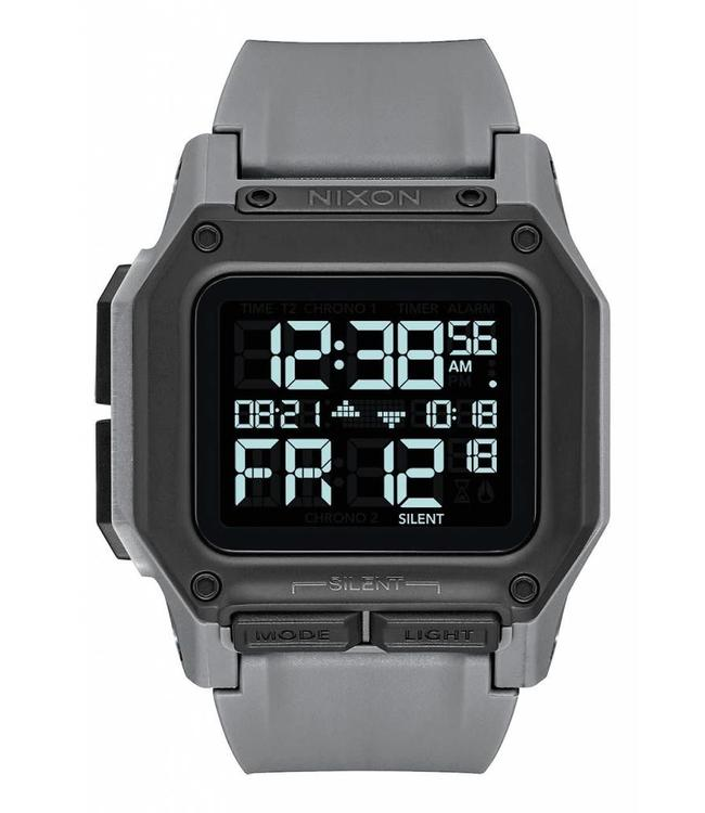 Nixon Regulus All Gunmetal 46mm Watch