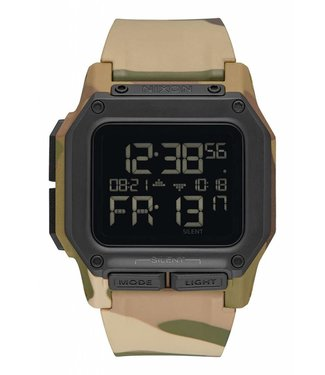 Nixon Regulus Multi Camo 48mm Watch