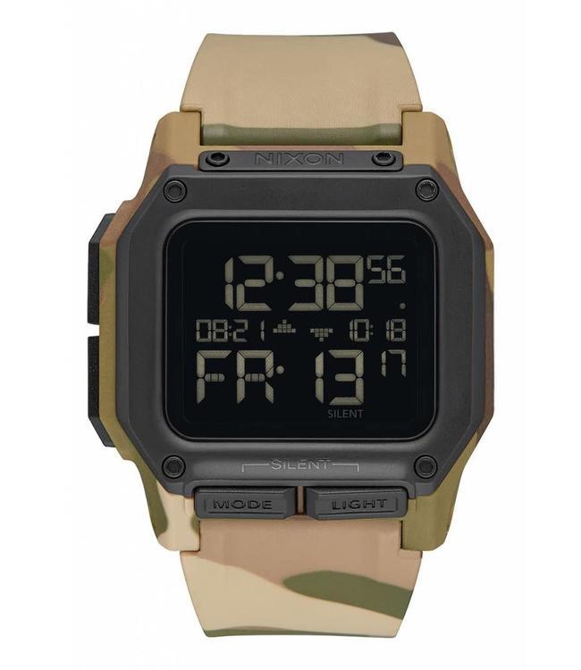Nixon Regulus Multi Camo 48mm Watch