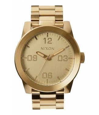 Nixon Corporal SS All Gold 48mm Watch