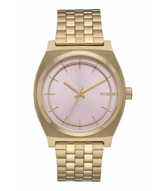 Nixon Time Teller Light Gold / Pink 37mm Watch
