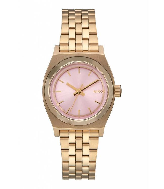 Nixon Time Teller Small  Light Gold / Pink 26mm Watch