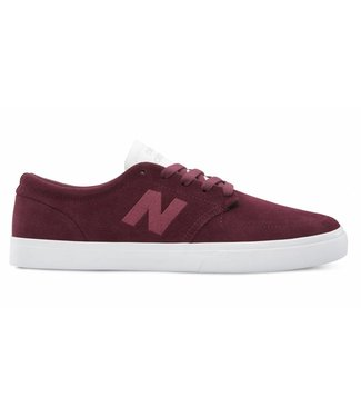 New Balance Numeric Numeric 345 Burgundy with White Shoes