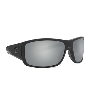 477a820bac Costa Del Mar Cape Matte Black Ultra 580P Silver Lens