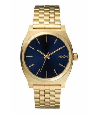 Nixon Time Teller All Light Gold / Cobalt 37mm Watch