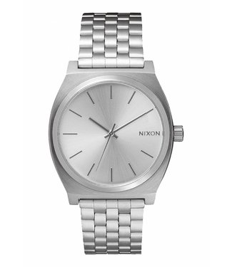 Nixon Time Teller All Silver 37mm Watch