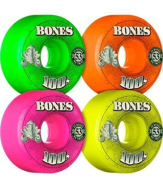 Bones 100's OG Money Mix Pack 53mm Skate Wheels