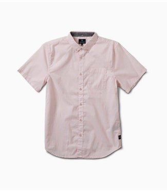 Roark Revival Well Worn Dirty Pink Short Sleeve Woven Shirt