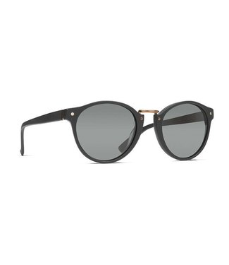 cff4fc5e9f251 Vonzipper Stax Black Satin with Wild Grey Vintage Polar Lens Sunglasses