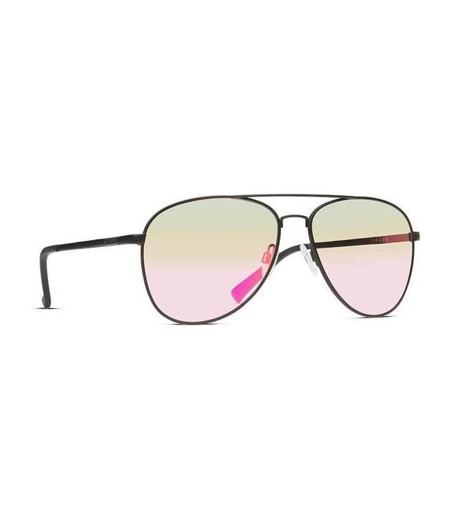 39c291075a Vonzipper Farva Black Satin with Pink Chrome Lens Sunglasses ...
