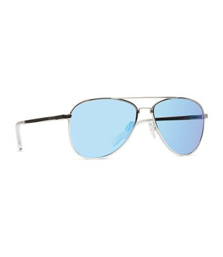 Vonzipper Statey Silver with Ice Chrome Lens Sunglasses